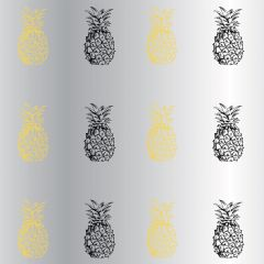 Pineapple Frosted Film Roll - 80cm x 50m