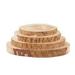 Kivu Wood Slice