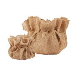 Eve Jute Drawstring Bag (Lined)
