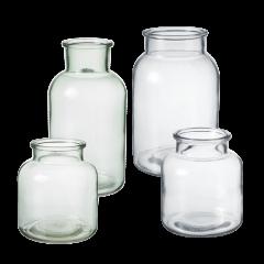 Hailey Glass Jar