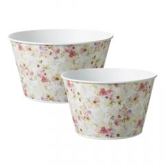 Fleurville Lined Tin Bowl
