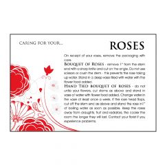 Designer Care Card - Rose