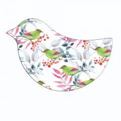 Vintage Birds on White  background