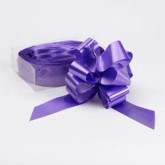 Pull Bow - Purple - 5cm