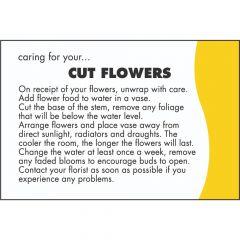 Care Card: Cut Flowers