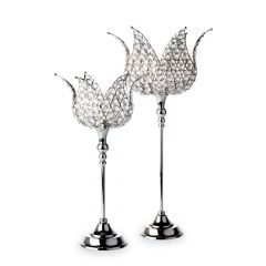 Casablanca Crystal Candle Holders